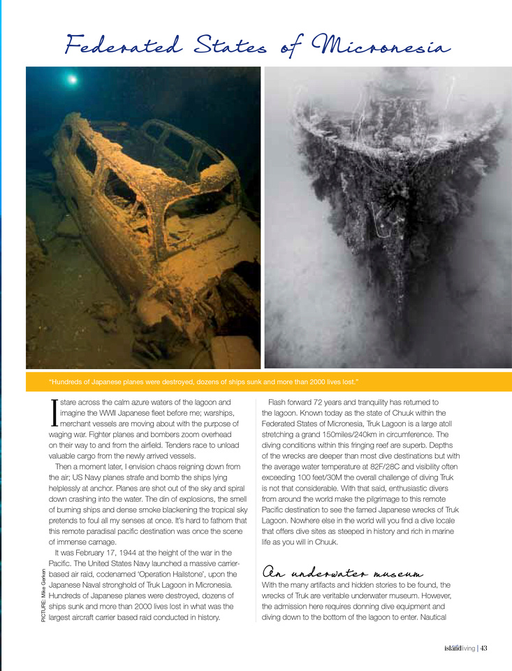 Wrecks of Truk Lagoon Page 2
