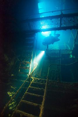 Engine Room - Nippo Maru