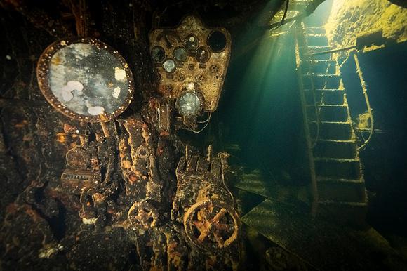 Kiyosumi Maru Engine Room