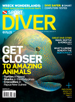 Sport Diver Magazine Cover August 2010