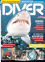 Diver Magazine Cover Aug 2012